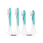 Philips Sonicare for Kids Bürstenkopfe türkis